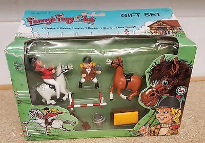 Penny's Pony Club Gift Set, 1987 Vintage MINT IN BOX Collectors Item