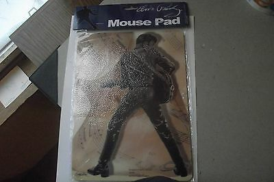 Elvis Presley Mouse Pad 68 Comback Special Black Leather Outfit Brand New