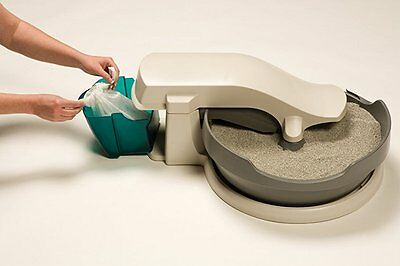 Self Cleaning Cat Box Automatic Litter PetSafe No Scoop Bags Warranty