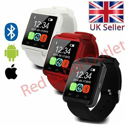 U80 Bluetooth Smart Wrist Watch Phone Mate For Android & iOS Iphone