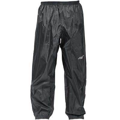 RST Motorcycle Motorbike Black Waterproof Over Trousers | All Sizes
