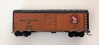 Used Ho Scale Great Northern 'painted and weathered' Boxcar roadnumber 10320