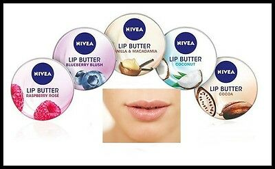 Nivea Lip Butter for Sensationally Soft Lips with Hydra IQ Long-Lasting 16.7g