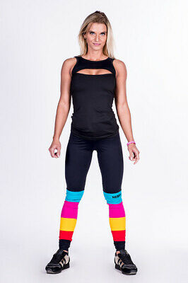 Nebbia Leggings Rainbow 278 Pants Fitnessbekleidung Bodybuilding Workout