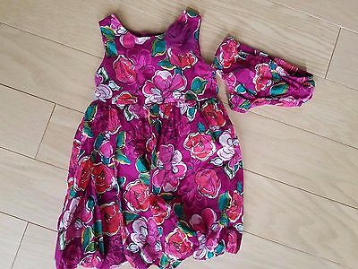 Children's Place Summer Toddler Girl Size 4T Sleeveless Floral Summer Dress