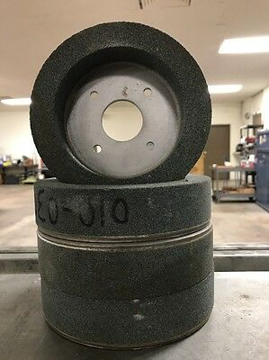"""7"""" X 1-1/2"""" 60 Grit Plate Mounted Grinding Wheel"""