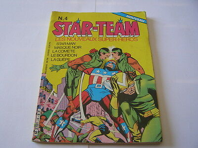 BD star team n°4 de 1984 euredif