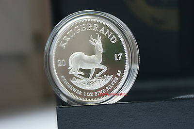 South Africa 2017 1 Rand Krugerrand 50th Anniversary 1967-2017 1oz. Silver Proof
