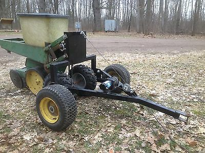 One Row Corn Planter (food plots) ATV or lawn tractor pulled