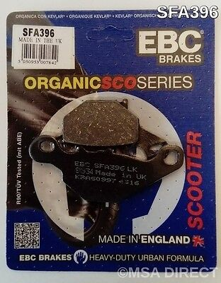 Suzuki UK110 Address (2015) EBC FRONT Kevlar Organic Disc Brake Pads (SFA396)