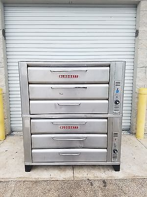 Blodgett  981  Gas  Double  Deck  Stone  Pizza  Baking  Ovens