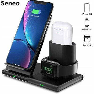 Qi Wireless Charger Fast Charging Pad for Samsung Galaxy S6 S7 Edge+ Note 5