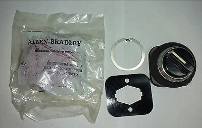 New Allen Bradley 2 Pos Selector Switch 800T-H2B Red Jumbo Mushroom Button N208A