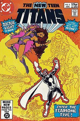 New Teen Titans (Vol 1) (Tales of from #41) #   3 Very Fine (VFN) Price VARIANT