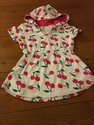 Girls Towelling Robe Age 12-18 Months