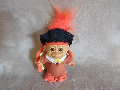 "Vintage Thanksgiving Turkey Troll by Russ 7"" Tall"