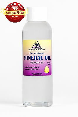 MINERAL OIL 90 VISCOSITY NF USP GRADE LUBRICANT by H&B Oils Center PURE 2 OZ