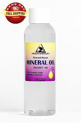 MINERAL OIL 350 VISCOSITY NF USP GRADE LUBRICANT by H&B Oils Center PURE 2 OZ