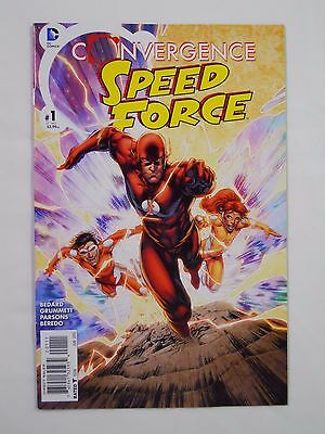 DC Comics Convergence: Speed Force #1 (2015)