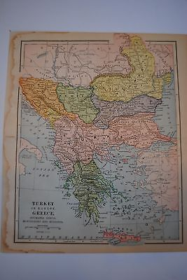 Turkey in Europe Greece and balkans 19th c