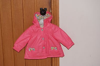 Baby Girls NEXT Hooded Coat - age 3-6months - Excellent condition