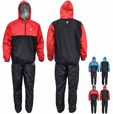 RDX Sauna Track Suit Weight loss Sweat Slimming Fitness Gym Training Heavy Duty