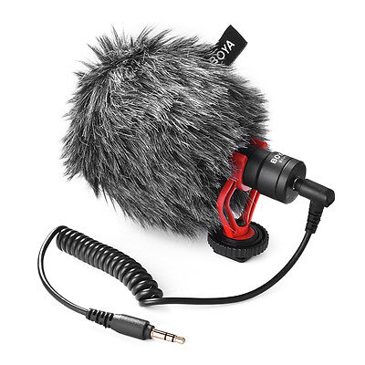 Stereo Audio Recording MIC Microphone for Living Camera Camcorder DSLR DV LF783