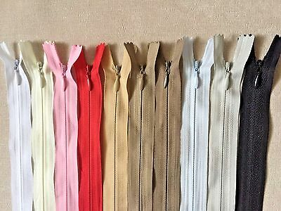 Invisible zips-8'10'16'18'20'22'24'-BUY 3 GET 3 FREE! Woven,closed-end,concealed