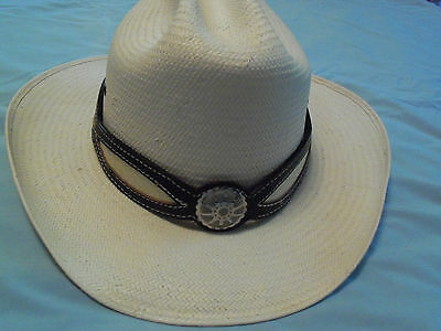 Snake Skin Hatband, Inlayed