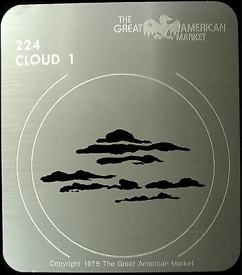 "Gobo template pattern - GAM 224 ""Cloud 1"""