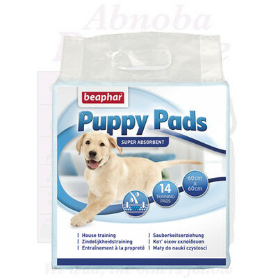 14 Beaphar Puppy Pads very absorbent ideal floor cover under feeding water bowl
