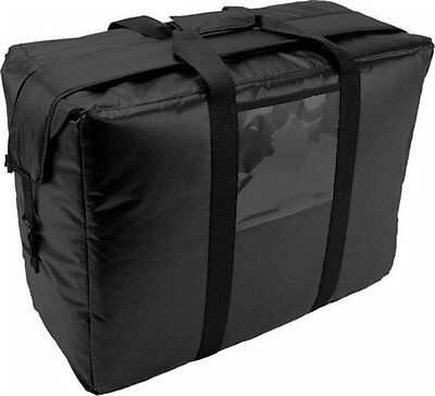 Case of 2 OvenHot Black Large Insulated Meals on Wheels Food Delivery Bag NEW