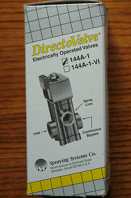 New DirectoValve 144a-1 12v  DC Electronically Operated Valve Solenoid