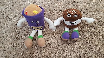 Vintage DAIRY QUEEN Advertising LOT Of 2 Plush