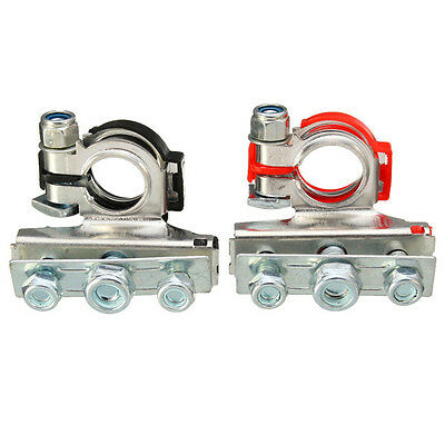 2 x Top-Post Cable Terminal Wire Automotive clamp terminals Connectors