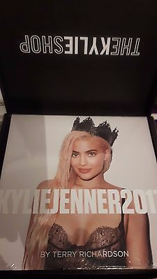 Kylie Jenner Official Calendar By Terry Richardson - 2017 - New 100% Genuine