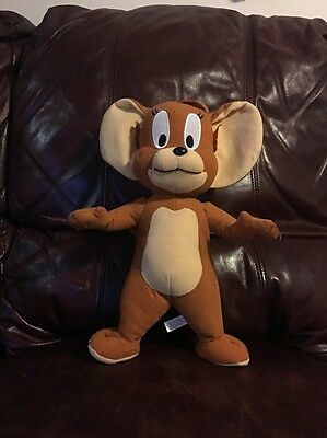 "14"" TOM AND JERRY Stuffed Animal Stuffed Plush Brown JERRY MOUSE Toy Factory"
