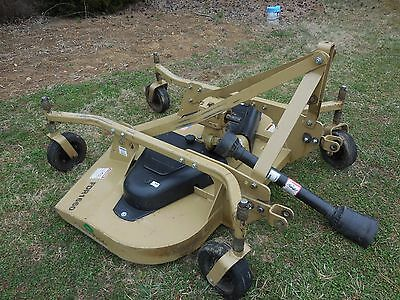 Land Pride 5 Foot 3 Point Hitch Tractor Rotary Finish Mower FDR-1660 Good Cond