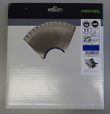 Festool 52-tooth Aluminum & Plastic Blade For TS55 Track Saw, 496306