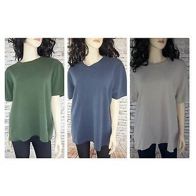 Three Womans Heavy Duty Old Navy Size L & X-Large Short Sleeve Tops