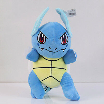 New Pokemon Center 12 inch Wartortle Character Figure Stuffed Anime Plush Doll