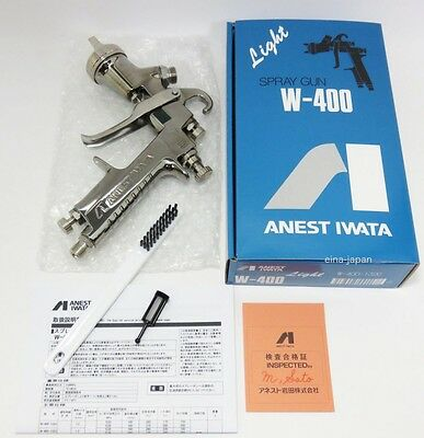 ANEST IWATA W-400 142G 1.3mm Gravity Spray Gun without Cup from Japan