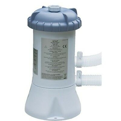 Pool Water Filter Clear 2000 L/hr Suitable Pools 8ft/10ft/12/ft For Heating Pump