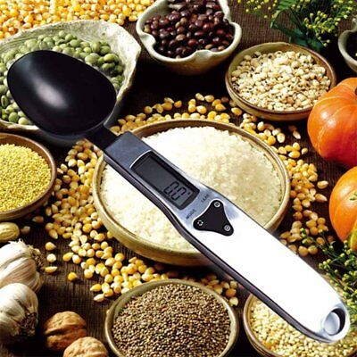 500G/0.1G Stainless Steel Digital Measuring Spoons With Scale Food Scale HM