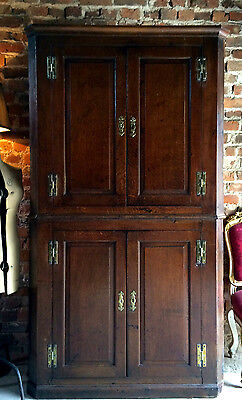 Stunning Antique Mahogany Corner Cupboard 18th Century George II Circa 1750