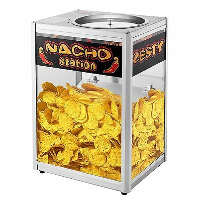 Nacho Chip Warming Station Concession Stand Popcorn Peanut Commercial Vendor