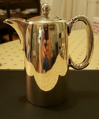 Walker & Hall Silver Plated Coffee Pot Fantastic Condition!