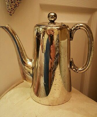 Walker & Hall Silver Plated Coffee Pot