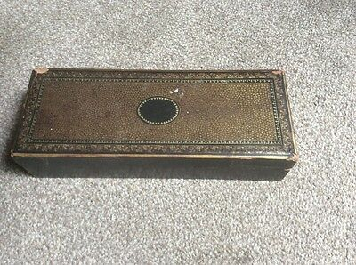 Antique Chinese Lacquered Box Probably For Jewellery