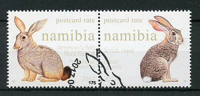 Namibia 2017 CTO Hares & Rabbits 2v Set Wild Animals Stamps